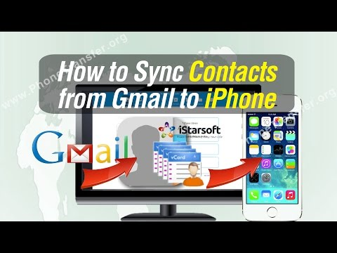 How to Sync Contacts from Gmail to iPhone 8/7 Plus/6S/6/SE/5S/5C/5