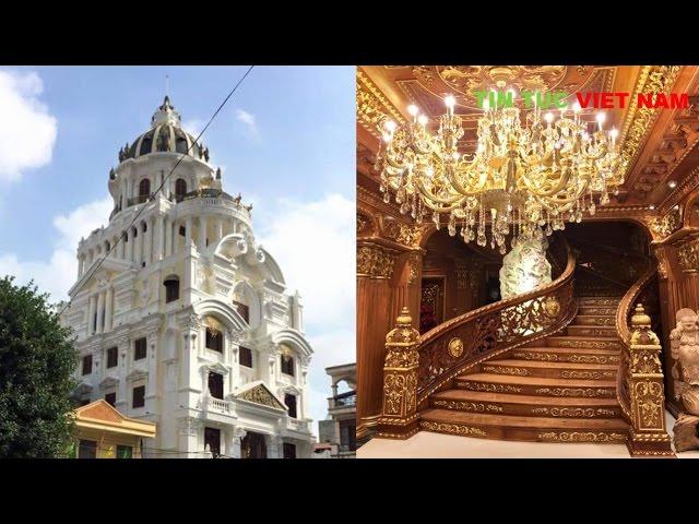 Choáng ngợp Biệt Thự 300 tỷ của Đại Gia Sắt Vụn Thanh Hóa tại Hà Nội