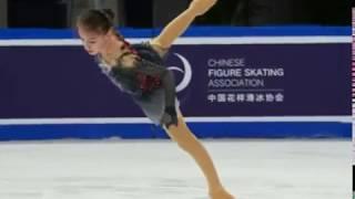 Анна Щербакова Cup of China 2019 короткая программа 73 51 и 1 место