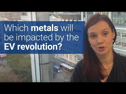 Which metals will be impacted by the electric vehicle revolution?