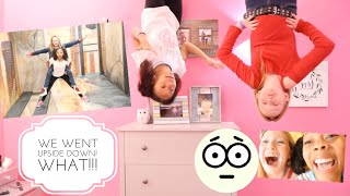 I went UPSIDE DOWN at the Illusions Museum with my Good Friend Abigail! ( Crazy Things *Reaction*)