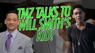 We talked to Will Smith's other kid! | TMZ