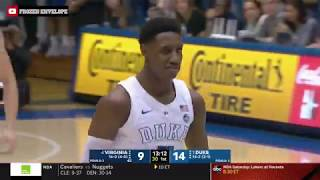 RJ Barrett Highlights vs. #4 Virginia (1/19/19) - 30 PTS, 5 REB, 3 AST