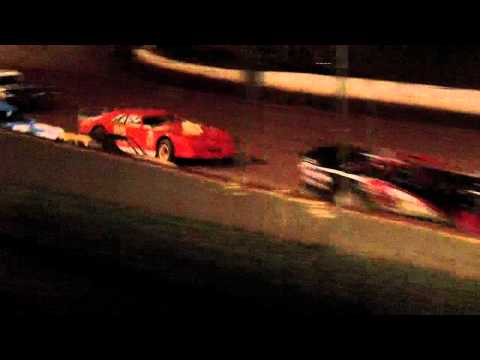 lake cumberland speedway 10 21 11 super dirt heat part 1