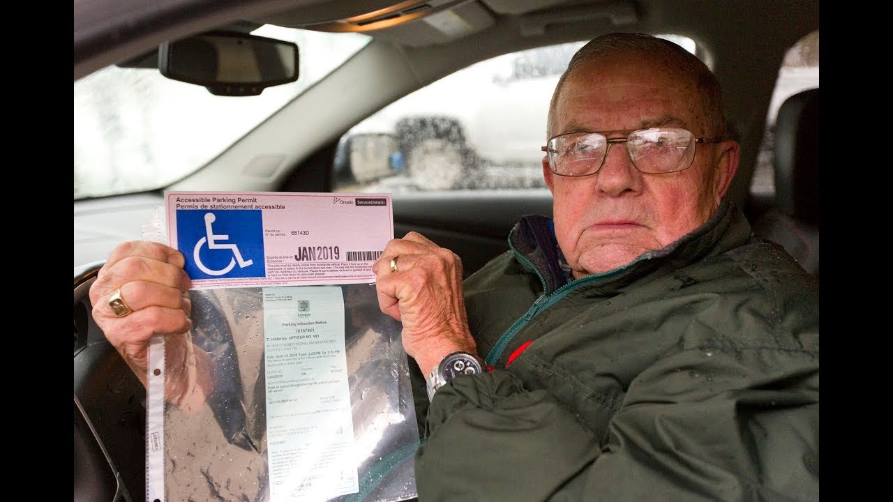 Parking Permit Seized From 83 Year Old Chaplain The London