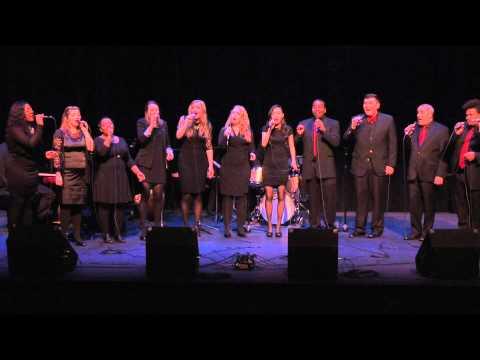 "Mason Jazz Vocal Ensemble performs ""America the Beautiful"""