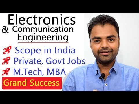 Electronics And Communication Engineering Scope, Salary, Jobs, M Tech, MBA, Ph.d In India Hindi