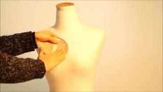 플라잉뷰티 버블 5cm 누드브라 착용법