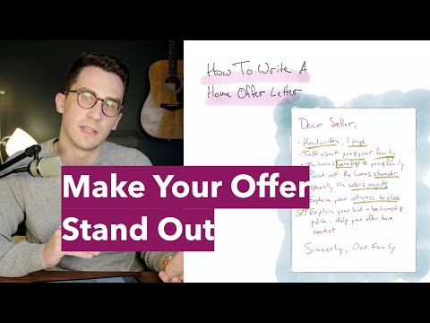 How To Write A House Offer Letter