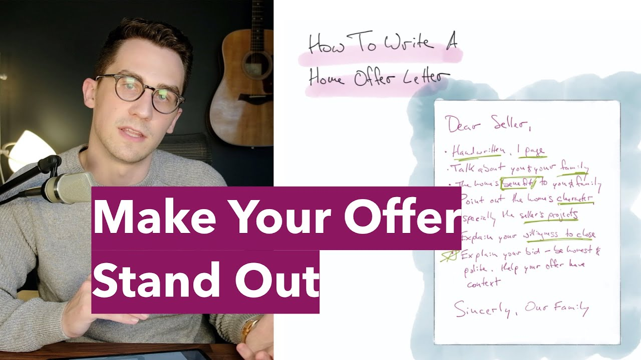 How To Write A House Offer Letter (Video) - Request Letters