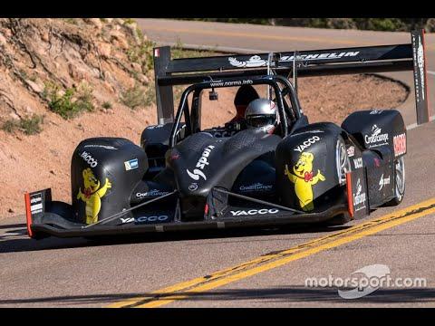 v rally 4 Tianmen hill climb Norma MXX RD dual view 1st run |
