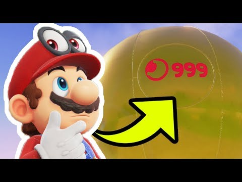 100% Completion Rewards in Super Mario Odyssey - ALL 999 Moons and ALL Coins! (Secret Ending)