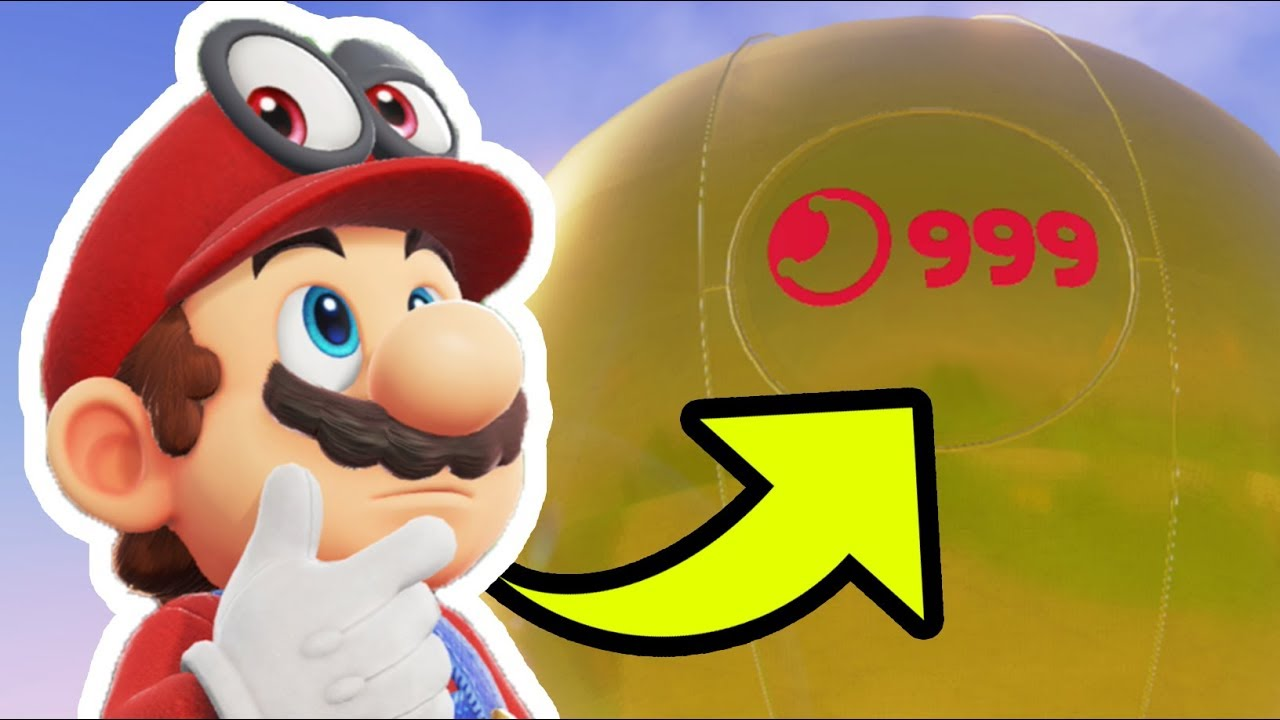 100 completion rewards in super mario odyssey all 999 moons and all coins secret ending