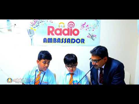 Ambassador School , Sharjah - RADIO AMBASSADOR!