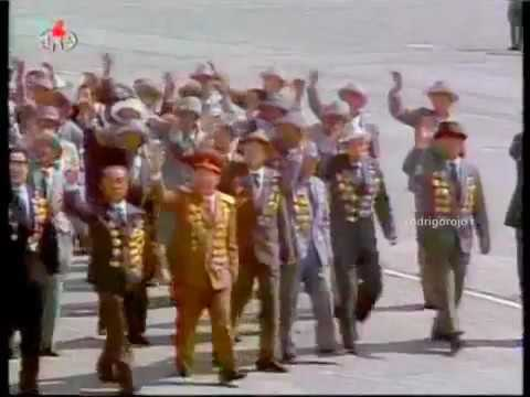 North Korea Parade April 25,1992 Parade - Short Version