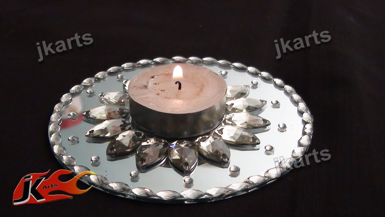 mirror wall candle holders