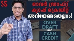 What is Over Draft (OD) Loan and Cash Credit (CC) Loan? How are they different? Basic Banking Terms