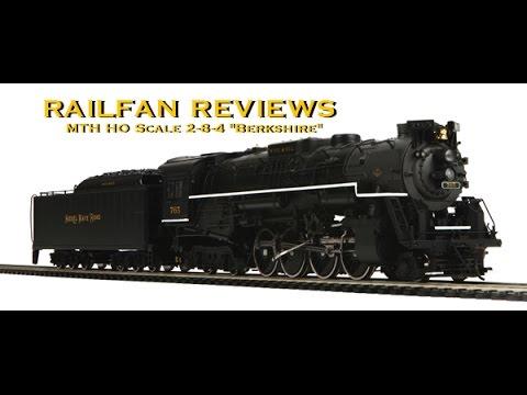 Railfan Reviews - MTH HO Scale 2-8-4 Berkshire