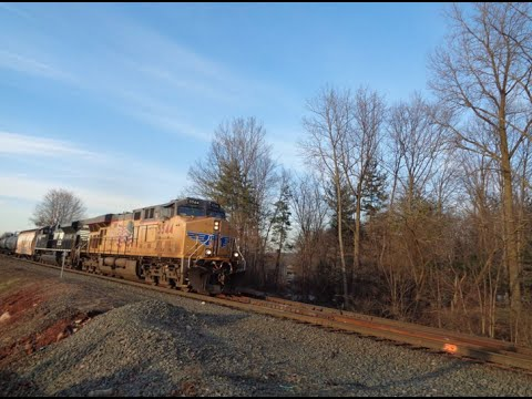 Railfan CSX Riverline at CP 22 & Auto 15 & NJT Train at Westwood