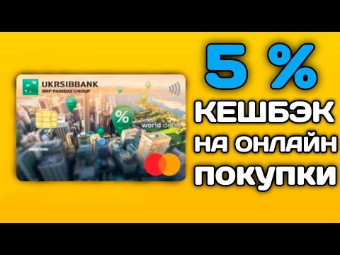 УкрСибБанк - карта