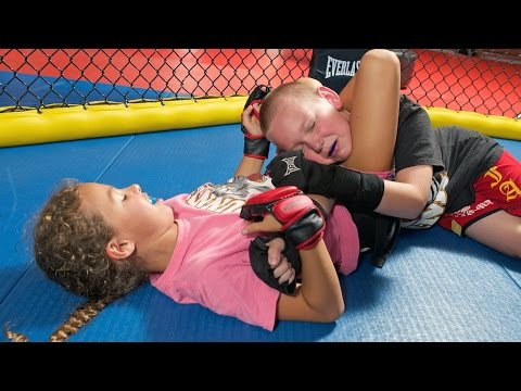Cage - fighting Kids: Children As Young As Four Train In MMA