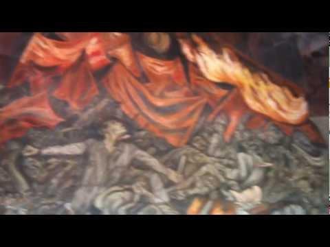 Murales de jos clemente orozco en el palacio de gobierno for El mural guadalajara