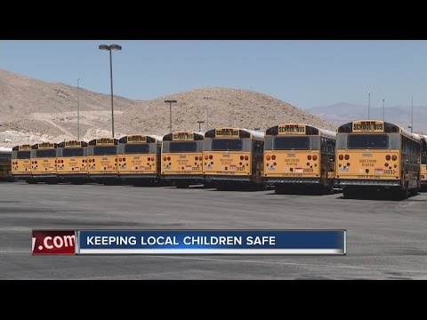 Seatbelts not on Clark County School District buses