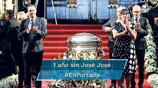 El lunes 28 de septiembre se cumple un año de que el mundo de la música (y sus fans) se quedó sin José José. Su hijo José Joel lo recuerda como un padre amoroso