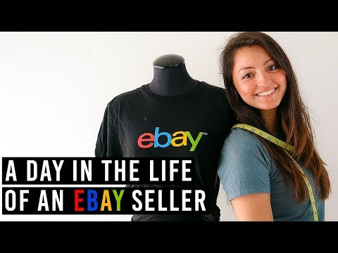 A Day In The Life: Full Time eBay Seller