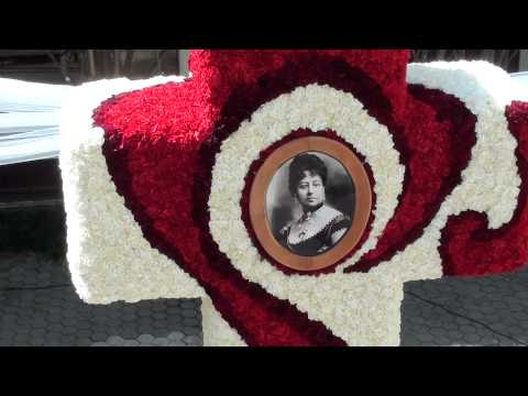 Decorated Coral Cross with Queen Emma picture