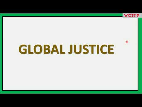 Global Justice Part 3