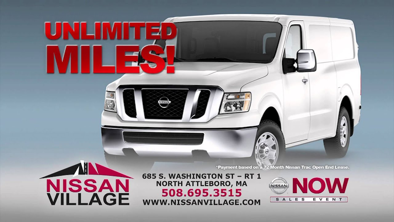 Marvelous Nissan Village NV Lease   May 2013   HD