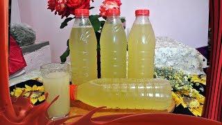 Квас из цвета бузины /// Летний освежающий напиток.