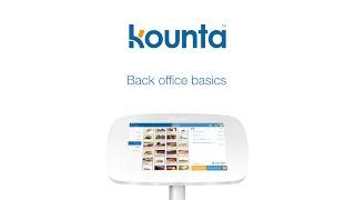 Kounta Back Office