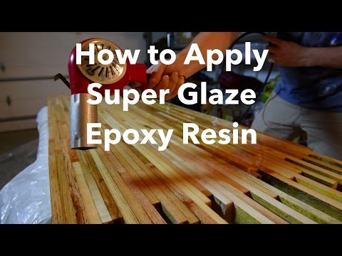How to Apply Super Glaze Epoxy Resin on Tile/Wood/Canvas