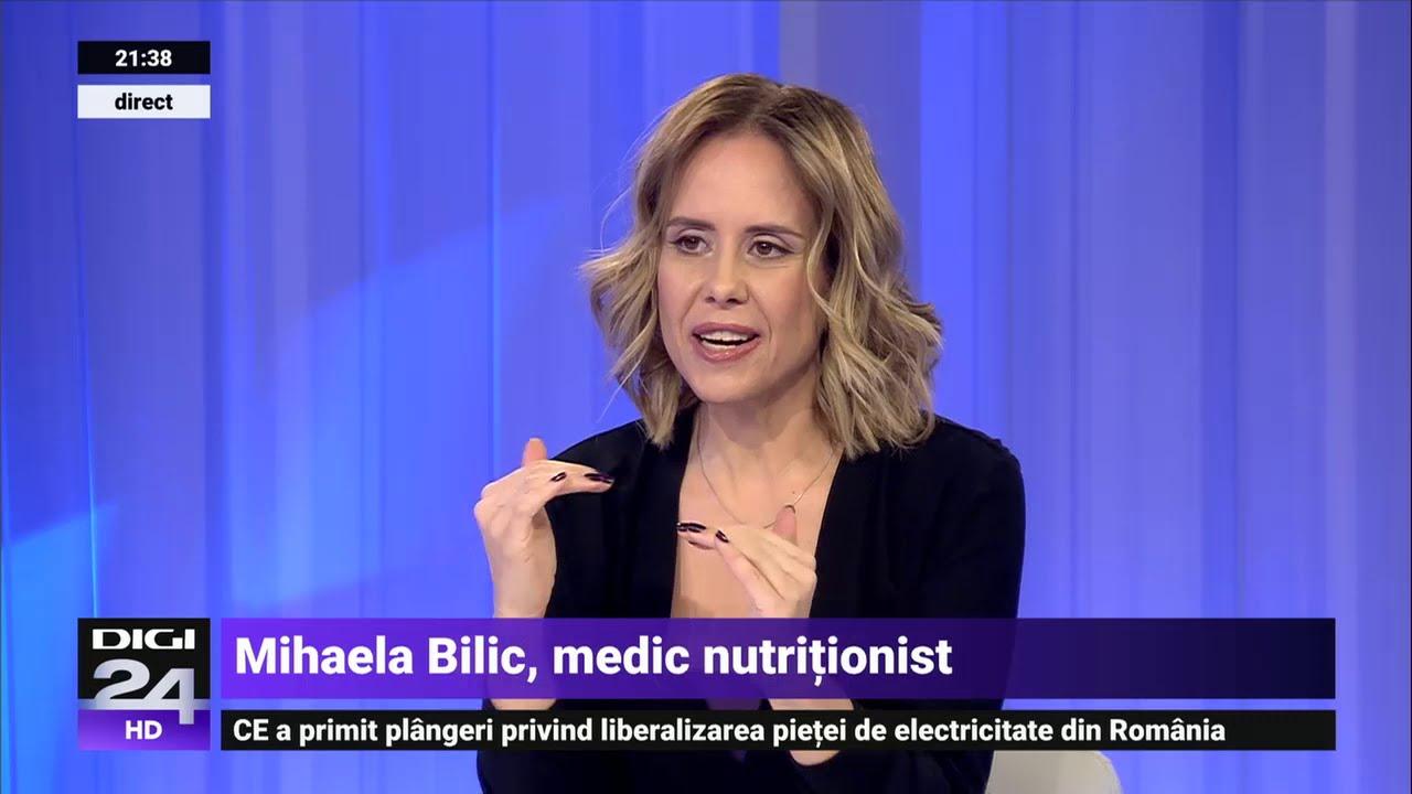 Mihaela Bilic: scapati de burta cu doua ciorbe pe zi - Forumul Softpedia