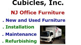 New Jersey Office Furniture - Best Prices - New and Used Furniture - Cubicles Installation & More