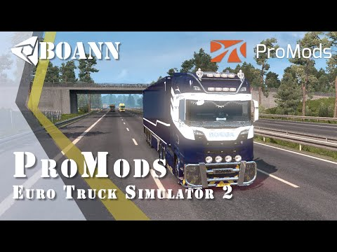 Promods in TruckersMP! Euro Truck Simulator 2 MP : #multieplay (G27)