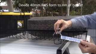 ilash 40mm rhs form lashing device secure 4x4 wheel