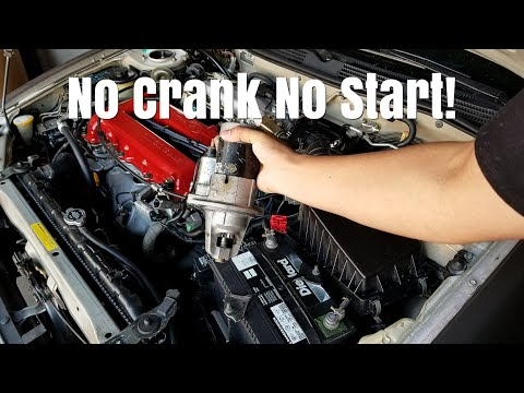 How To Replace A Starter On A Infiniti G20, 200SX and Nissan Sentra!