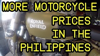 More Motorcycle Prices In The Philippines