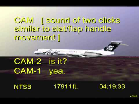 Loss of Control and Impact with Pacific Ocean, Alaska Airlines Flight 261 - Flight Path