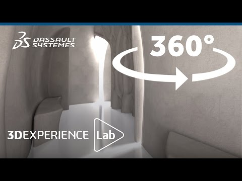 360° Video: 3D-Printed Pavilion Reveal by XtreeE - 3DEXPERIENCE Lab - Dassault Systèmes