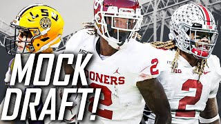 2020 NFL MOCK DRAFT - Full First-Round Mock!