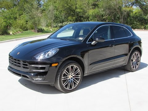 2015 Porsche Macan Turbo Start Up, Quick Drive, and In Depth Review