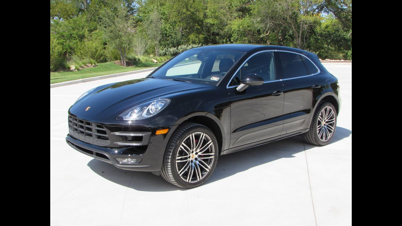 2015 porsche macan turbo start up, quick drive, and in depth