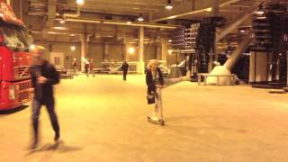 Amelia Lily - Backstage at The O2 Arena