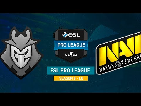 G2 vs Na`Vi - ESL Pro League S8 EU - Map 1