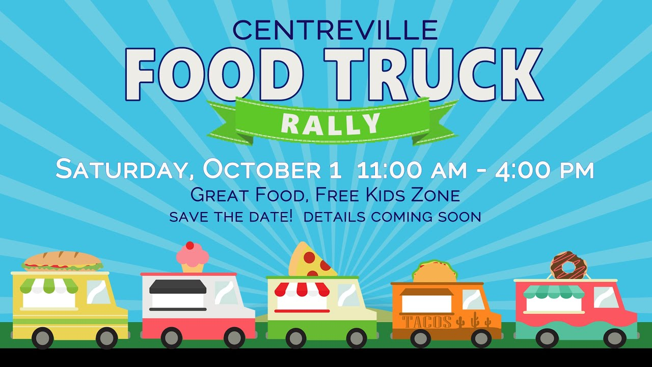 Centreville Food Truck Rally 2016 promo video