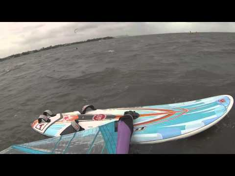 Windsurfing Matheson Hammock Miami Florida